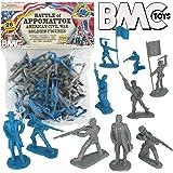 BMC Civil War Plastic Army Men - 26pc Battle of...