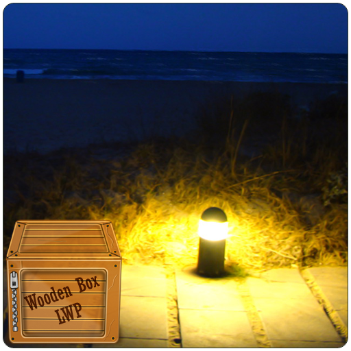 Night Beach Lamp Live (Solitude Wallpaper)