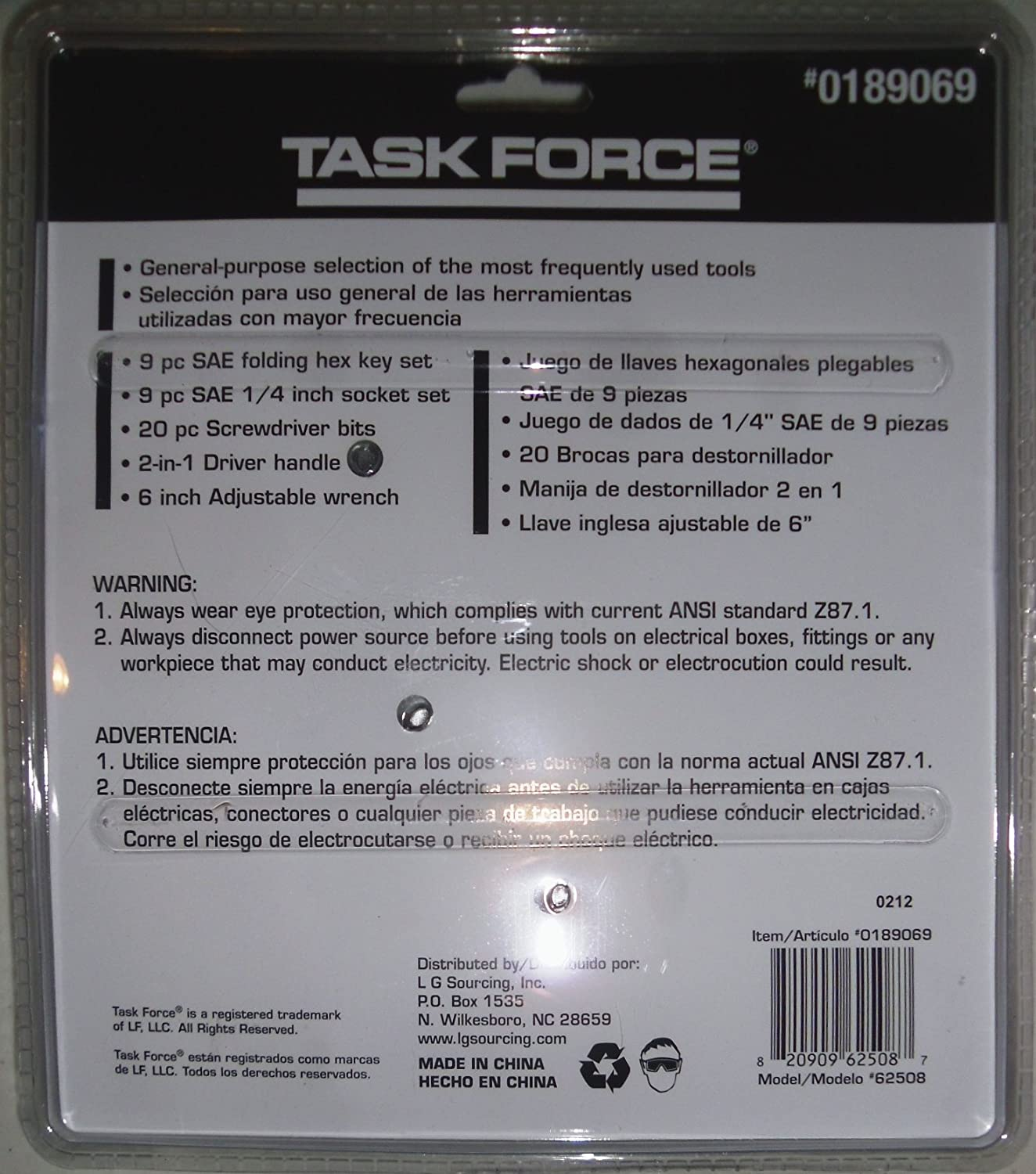 Task Force Task Force 40pc Mechanic Tool Set - Hand Tool Sets - Amazon.com