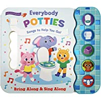 Everybody Potties - Songs To Help You Go! 5-Button Song Children's Board Book, Potty Training (Early Bird Song Books)