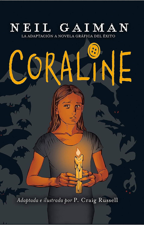 Coraline (Juvenil) eBook: Gaiman, Neil, Russell, Philip Craig ...