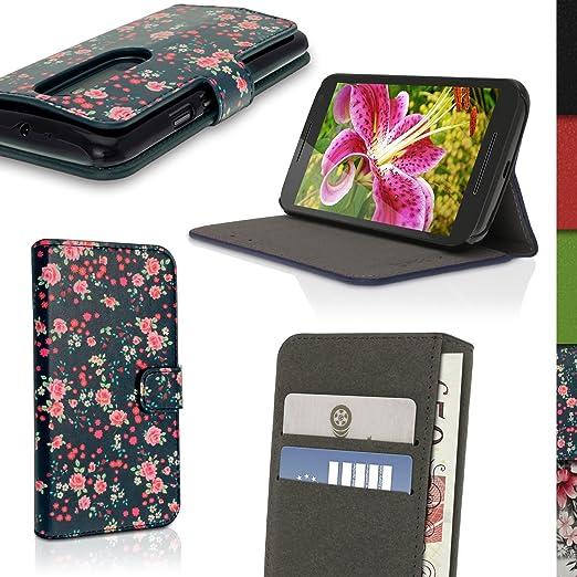 15 opinioni per igadgitz 'Designer Collezione' Esecutivo Portafoglio Rosa Floreale Disegno Eco