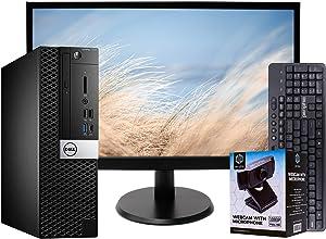 Dell 7050 SFF PC Desktop Computer, Intel i5-6500, 16GB RAM, 512GB SSD, Windows 10 Professional, New 23.6