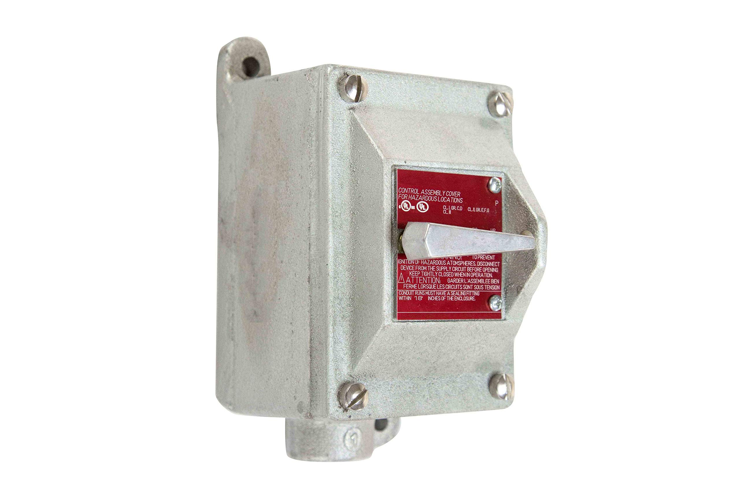 Explosion Proof Switch - Class 1 Div 1 and Class 2 Div 1 by Larson Electronics