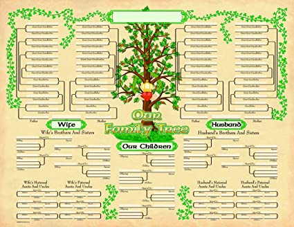 amazon com irish celtic family tree geneology chart poster 2 pack