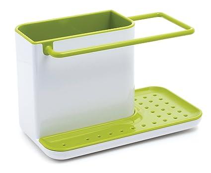 joseph joseph 85021 sink caddy kitchen sink organizer sponge holder dishwasher safe regular - Kitchen Caddy