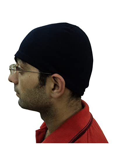 1561cfaa22c Gajraj Men s Cotton Skull Cap (Navy