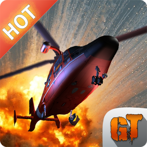 Modern Helicopter Simulator 3D - Fire Helicopter Games