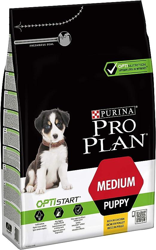 Oferta amazon: Purina ProPlan Medium Puppy Start pienso para perro cachorro Pollo 3 Kg