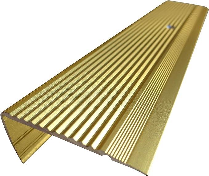 23 mm x 45 mm x 55 cm Silber verschiedene Gr/ö/ßen Treppenkanten Winkelprofil Treppenwinkelprofil Treppenprofil Treppenstufenprofil