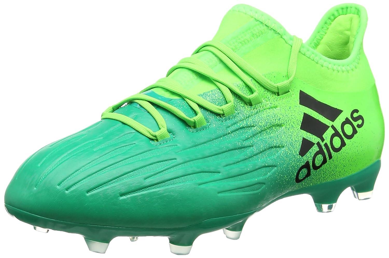 Adidas X 16.2 FG Herren Fußballschuh, grün – (Versol Negbas Vol)