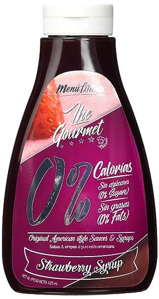 Menu Fitness, Salsa y sirope de Fruta (Fresa) - 6 de 425 ml