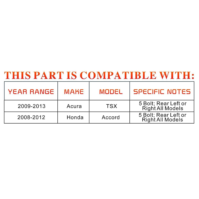 Front LH and RH Wheel Hub Bearings for Acura CL TL Honda Accord Civic DRIVESTAR 510050x2 Pair