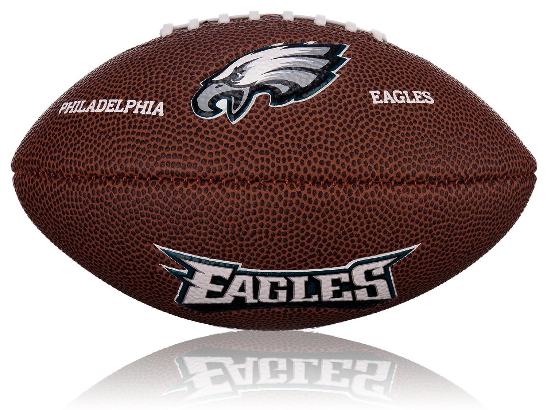 Wilson NFL Mini Philadelphia Eagles Logo Ballon de football américain WL0206452042