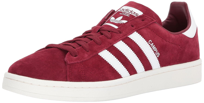 Rouge (Collegiate Burgundy blanc Chalk blanc) adidas Campus, Baskets Basses Homme 45 1 3 EU