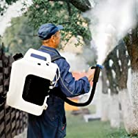 Sylvan ULV FOGGER Backpack Built-in HIGH Powered 1200w Electric Portable Cold Dual NOZZLES Sprayer in Stock USA