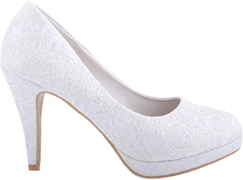 Maggie Boutique Off White Lace Ivory
