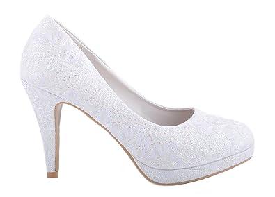 15d3b1051acf Off White Lace Ivory Glitter Shiny Wedding Shoes Bridal Platform High Heels