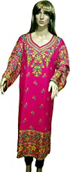 Unifiedclothes Plus Size (upto 9XL) Women Indian Pakistani Kurti Tunic Kurta Top Shirt Dress EPlus109B