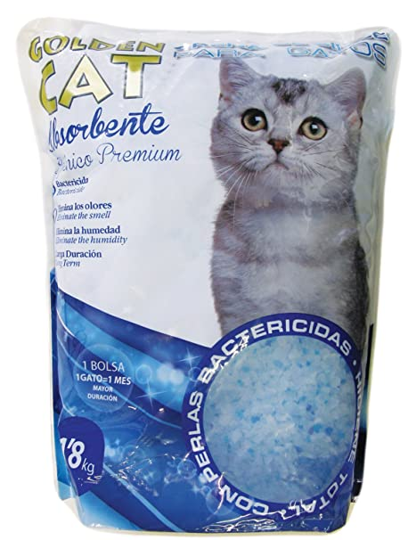 Golden Cat - Arena Sílice 1,8kg - Pack 4 unidades