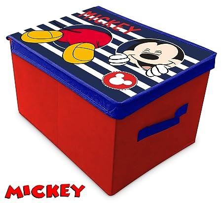 Scatola pieghevole con coperchio Mickey Mouse