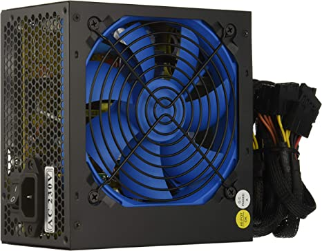 CoolBox COO-FA500BGR - Fuente de alimentación ATX: Amazon.es: Informática