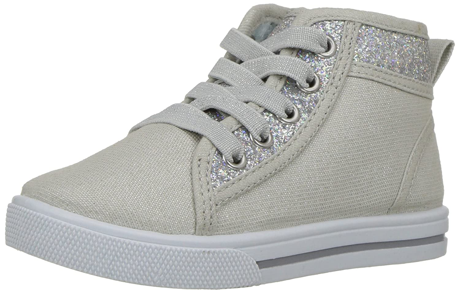 OshKosh B'Gosh Kids Babette Girl's Glitter High-Top Sneaker OshKosh B'Gosh