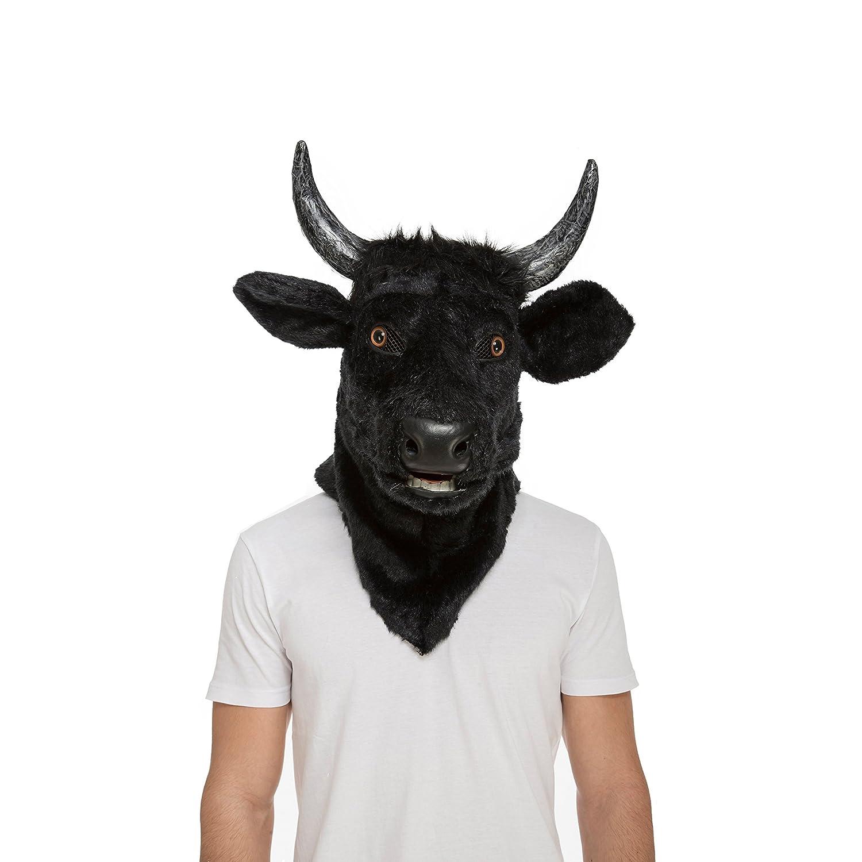 My Other Me Me - Máscara con mandíbula móvil toro (Viving Costumes 204681): Amazon.es: Juguetes y juegos