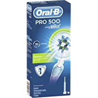 Oral-B PRO 500 Rechargeable Electric Toothbrush, Powered by Braun
