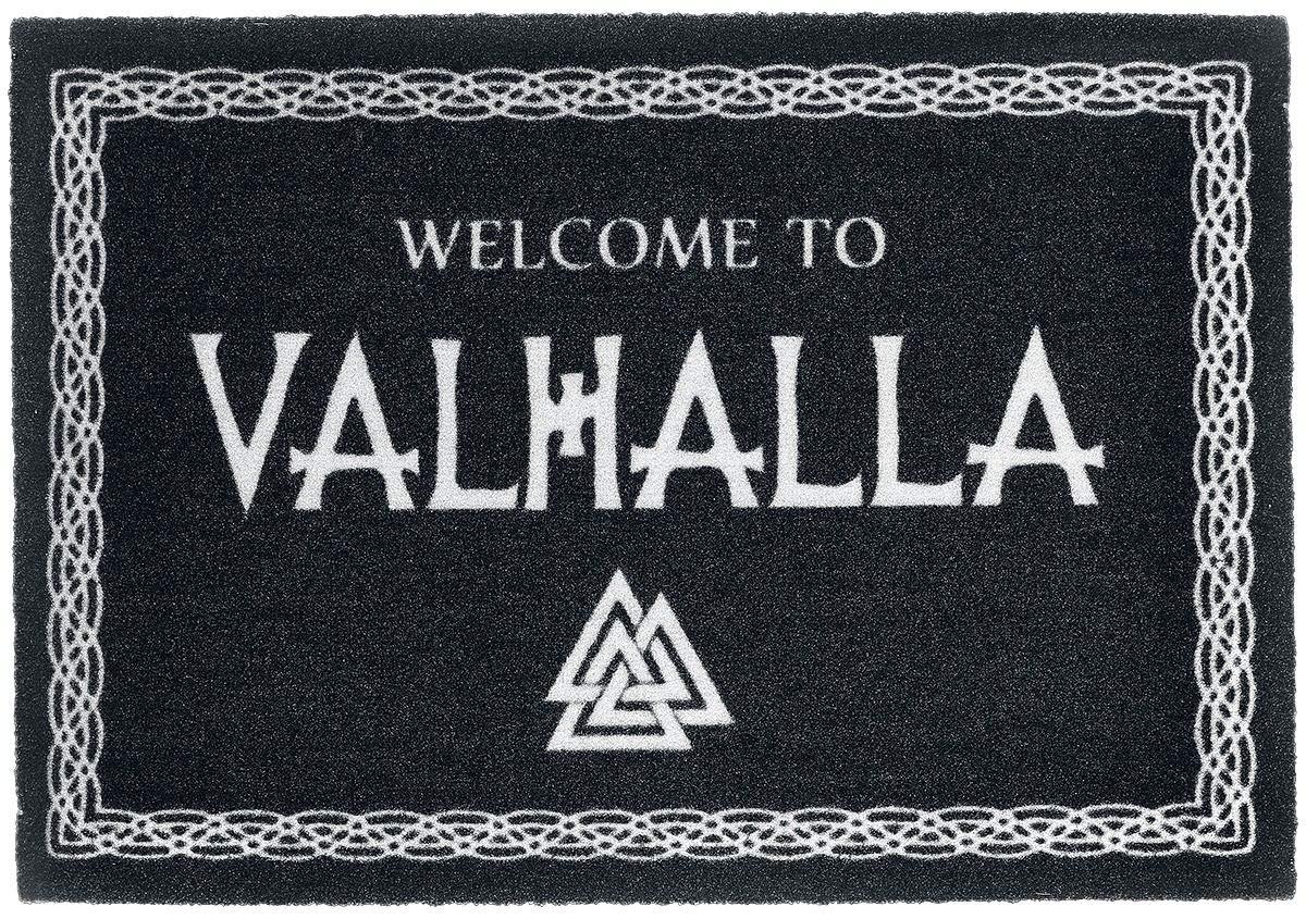 Welcome to Valhalla Zerbino nero/bianco