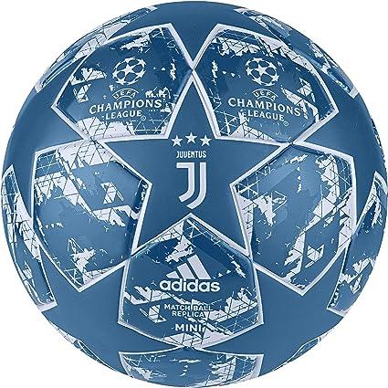 adidas Finale JUVE MIN Balón de Fútbol, Mens, Unity Blue/Aero ...