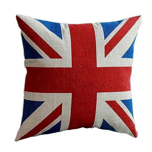Amanecer cama Unión Jack bandera del Reino Unido funda para ...