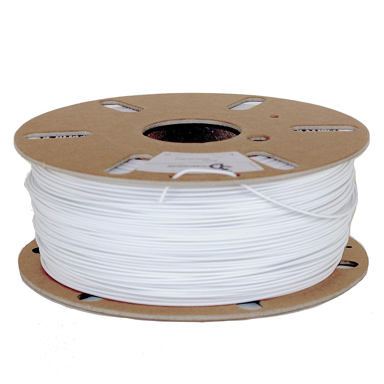 Filamento de cart/ón reciclable con efecto copo de nieve 3DTomorrow contiene PLA reciclado PLA mate Filamento de impresora 3D respetuoso con el medio ambiente 1,75 mm 100/% reciclable
