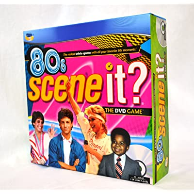 Scene It 80\'s Game With DVD Radical Trivia Questions: Toys & Games [5Bkhe0502980]