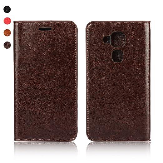 1 opinioni per Huawei Nova Plus Cover, bdeals Luxury Portafoglio Custodia in Pelle Vera per