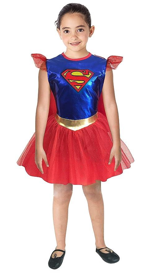 2b8f4e45d Warner Disfraz Infantil para Niña de Super Girl, Talla 6: Amazon.com ...