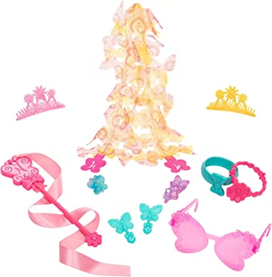 Disney Junior Fancy Nancy Kids Jewelry Necklace Hair Accessory Dress Up Set