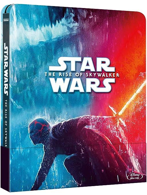 Steelbook Star Wars: El Ascenso de Skywalker Blu-ray: Amazon.es: Daisy Ridley, Adam Driver, John Boyega, Oscar Isaac, Domhnall Gleeson, Kelly Marie Tran, Joonas Suotamo, Ian McDiarmid, Carrie Fisher, Keri Russell, Billie Lourd,