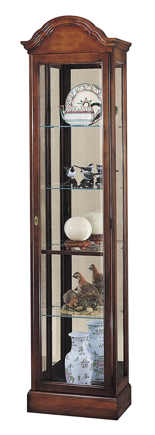 Amazon.com: Howard Miller 680-145 Gilmore Curio Cabinet: Kitchen ...