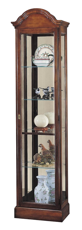 amazoncom howard miller gilmore curio cabinet kitchen u0026 dining
