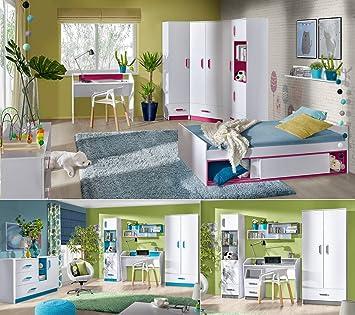 Jugendzimmer Kinderzimmer komplett THIAGO Set C Eckschrank 2 ...