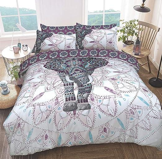 Sleep Down - Juego de Funda nórdica y Funda de Almohada (algodón ...