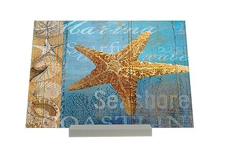 Soporte Fotografias Marítima Estrella de mar Letrero Decoración
