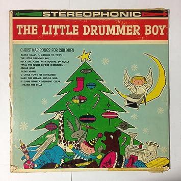 Christmas Drummer Boy.Caroleers Audio Cd The Little Drummer Boy Christmas