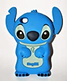 A-Sonic Disney 3D Stitch Movable Ear Flip Hard Case Cover For Iphone 4/4S Xmas Gift