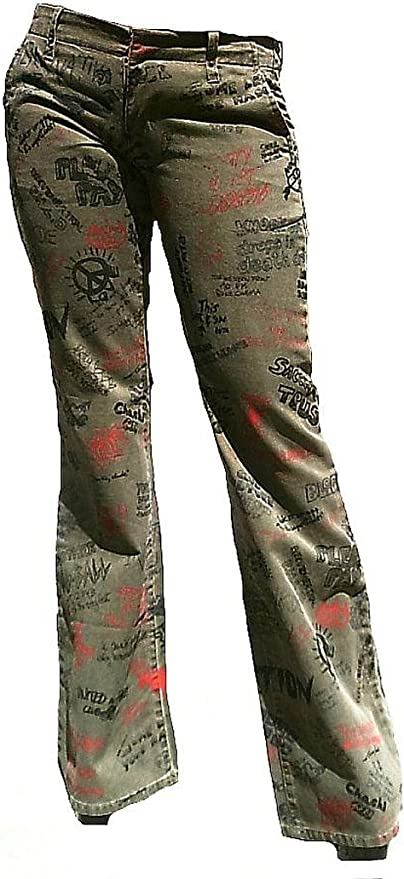 Fornarina Mujer Jeans Verde Caqui Army Green Club hasta Hippie ...