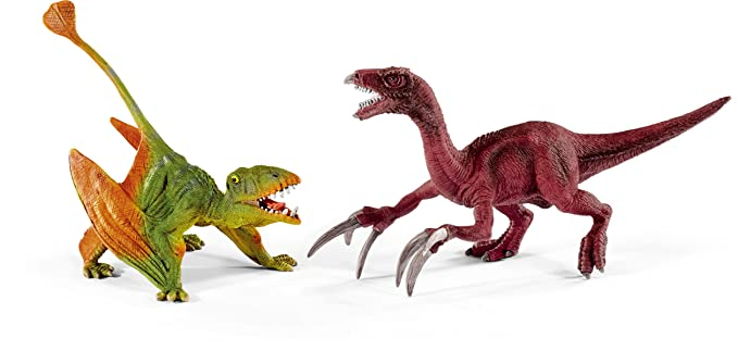 Schleich - 41425 - Figurine - Petits dimorphodon et thérizinosaure