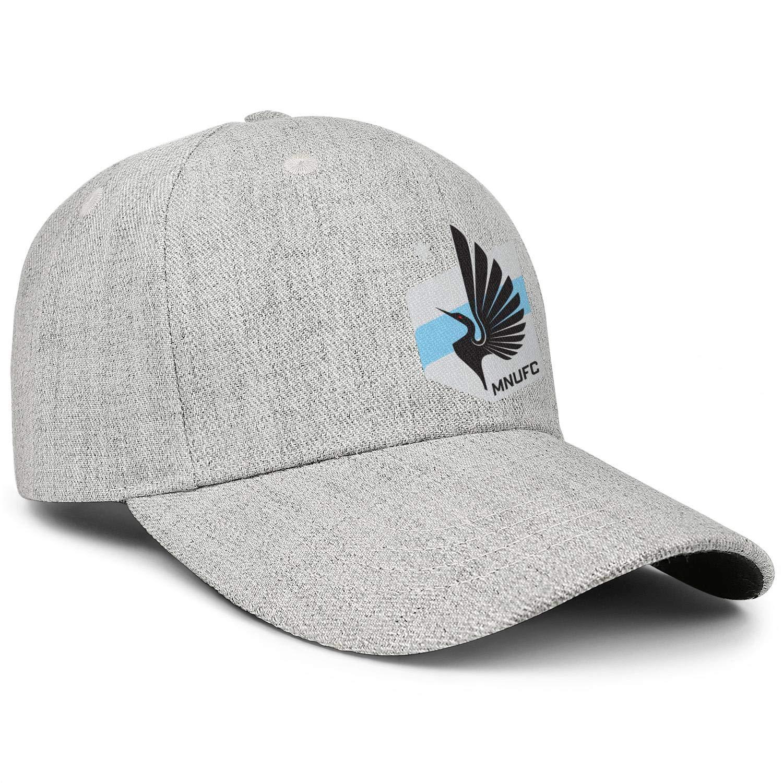 Adjustable Cowboy Hat Superlite Trucker Cap Snapback Hat Football Hats LiJiCai Unisex Minnesota-Funny-United-FC-Logo