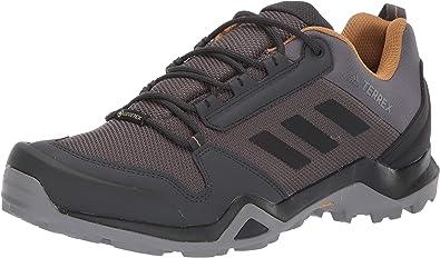 adidas outdoor Men's Terrex AX3 GTX Hiking Boot, Grey Five/Black/Mesa, 12 M  US