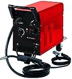 Einhell Schutzgas-Schweissgerät TC-GW 150 (25 - 120 A, 0.6 - 0,8 mm Schweißdraht, fahrbar, 6-stufige Schweißstromeinstellung, Thermoüberlastschutz, Druckminderer, Schlauchpaket inkl. Schweißbrenner, Massekabel inkl. Masseklemme, inkl. Schweißschirm)